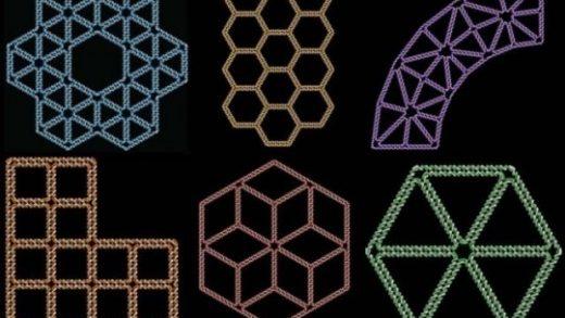 Programa de computador que traduz desenhos de formas arbitrárias em estruturas bidimensionais feitas de DNA.
