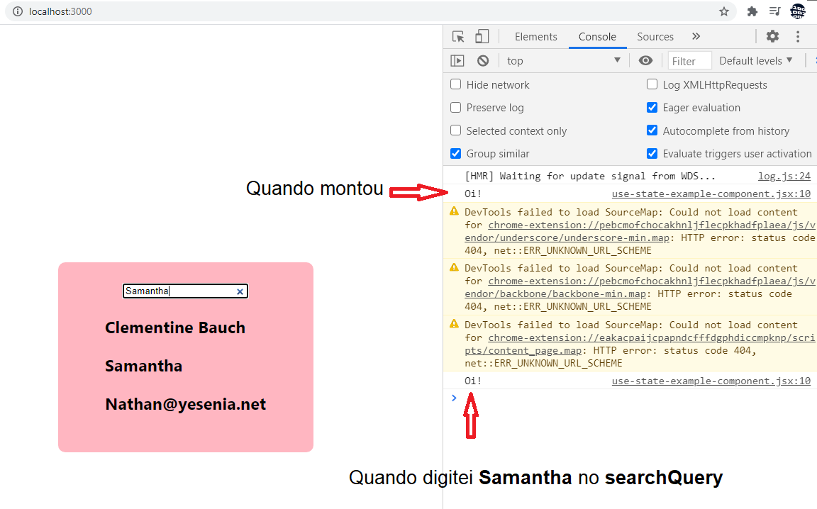 useEffect disparando com searchQuery